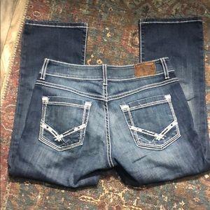 Buckle BKE Denim Capri jeans Size 27